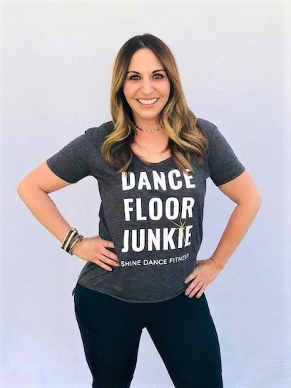 Dance Floor Junkie Tee