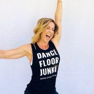 Dance Floor Junkie Muscle Tank