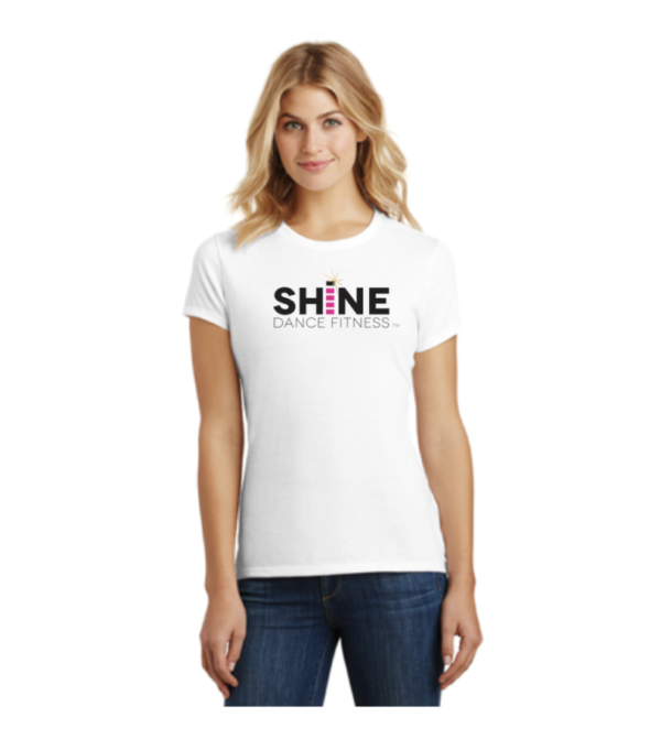White SHiNE T-shirt