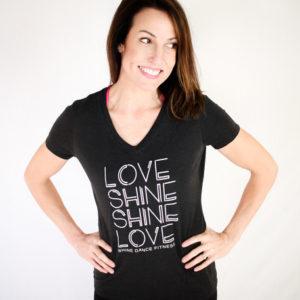 LOVE SHiNE V-Neck (Grey)