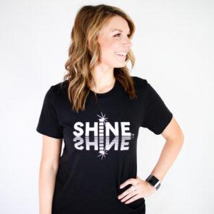 SHiNE Reflection Tee (Black)