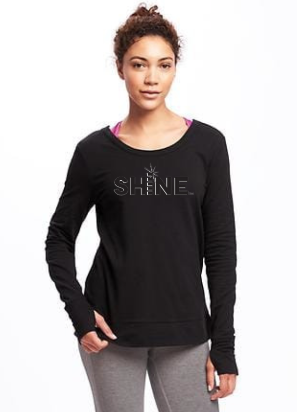 Black SHiNE Sweatshirt